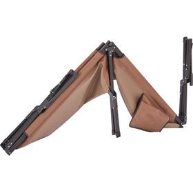 CAMPZ Folding Bed L, marrón/negro